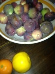 Figs, Orange & Lemon